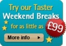 Try out our tasty short breaks.